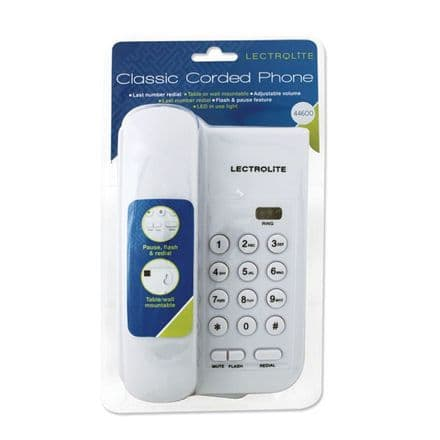 Lectrolite Small Talk Phone - White